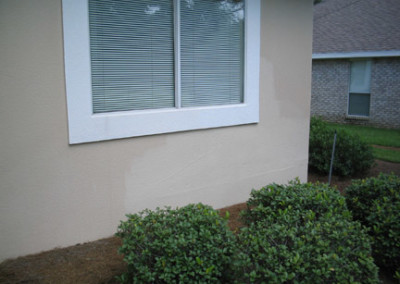 Stucco Repair - Finished